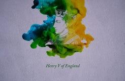 Le Roi Henry V de l'Angleterre illustration libre de droits
