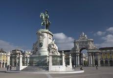 Le Roi José I Statue images stock