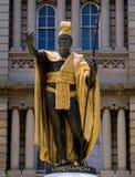 Le Roi Kamehameha Image libre de droits