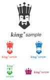 Le Roi Logo illustration stock