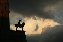 Le Roi Louis IX Photographie stock