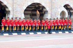 Le Roi malaisien Birthday Parade Celebrations 2011 Photos stock