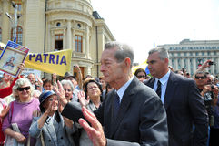 Le Roi Mihai I de la Roumanie (10) Photo stock