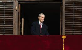 Le Roi Mihai I de la Roumanie Photographie stock libre de droits