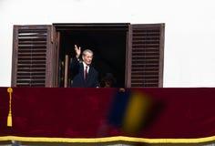 Le Roi Mihai I de la Roumanie Photographie stock