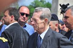 Le Roi Mihai I de la Roumanie (7) Photographie stock libre de droits