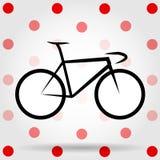 Le Roi Of The Mountains Vecteur de bicyclette Photographie stock libre de droits