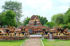 Le Roi Naresuan Monument Images stock