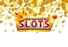 Le roi raine le casino de 777 bannières illustration de vecteur