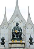 Le Roi Rama I Monument de la Thaïlande Images libres de droits