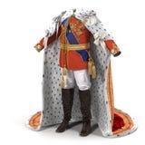 Le Roi royal Costume sur l'illustration 3D blanche illustration stock