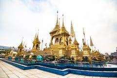 Le Roi royal Rama de bûcher funèbre le 9ème de la Thaïlande Images libres de droits