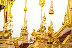 Le Roi royal Rama de bûcher funèbre le 9ème de la Thaïlande Photographie stock