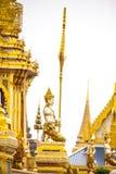 Le Roi royal Rama de bûcher funèbre le 9ème de la Thaïlande Photo libre de droits