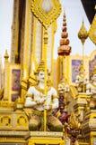 Le Roi royal Rama de bûcher funèbre le 9ème de la Thaïlande Photos stock