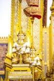 Le Roi royal Rama de bûcher funèbre le 9ème de la Thaïlande Image libre de droits