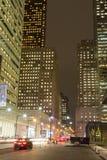 Le Roi Street Toronto la nuit photo stock