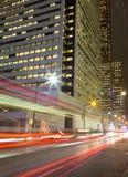 Le Roi Street Toronto la nuit photos libres de droits