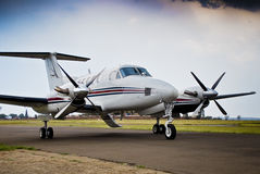 Le Roi superbe Air B200 de Beechcraft Image stock