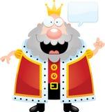 Le Roi Talking de bande dessinée illustration de vecteur
