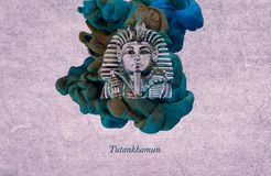 Le Roi Tutankhamun illustration libre de droits