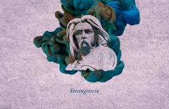 Le Roi Vercingetorix illustration stock
