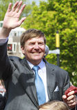 Le Roi Willem-Alexander Images stock