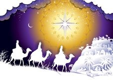 Le Roi Wise Men illustration stock