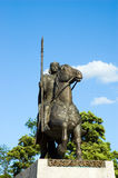 Le Roi Wroclaw Pologne de statue Image stock