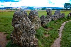 Le Rollright Stones3 Image libre de droits