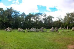 Le Rollright Stones2 Image stock