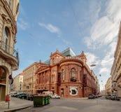 Le Ronacher était un établissement, aujourd'hui un théâtre bien connu dans Himmelpfortgasse à Vienne, Autriche Images libres de droits