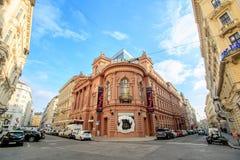 Le Ronacher était un établissement, aujourd'hui un théâtre bien connu dans Himmelpfortgasse à Vienne, Autriche Image libre de droits