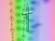 Le rosaire du rosaire Photo libre de droits