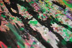Le rose foncé grren doux, fond créatif de contrastes images libres de droits