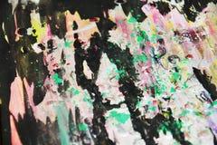 Le rose foncé grren le doux noir, fond créatif de contrastes images stock
