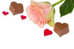 Le rose a monté pour le jour de valentines Image stock