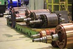 Le rotor de moteur électrique des actions Photo stock