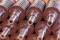 Le rotor de moteur électrique des actions Photographie stock libre de droits
