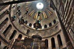 Église de la tombe sainte - rotunda et d'Edicule image libre de droits