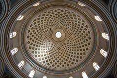 Le rotunda de Mosta est une église catholique romaine dans Mosta, Malte Photographie stock libre de droits