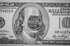 Le rouble était en baisse Taux de change Le rapport du rouble au dollar Photos libres de droits