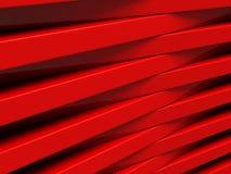 Le rouge bloque le fond futuriste géométrique abstrait Images stock
