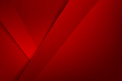 Le rouge de base de la géométrie de fond abstrait a posé et chevauchement illustration libre de droits