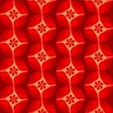 Le rouge fleurit l'illustration de pétale de fond Photo libre de droits