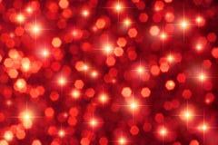 Le rouge Stars le fond Photos libres de droits