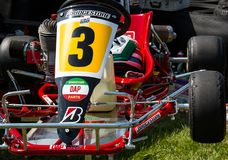 Le rouge vont Kart photos libres de droits