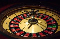 Le roulette dinamiche in casinò Immagine Stock