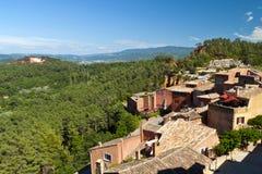 Le Roussillon Photographie stock libre de droits