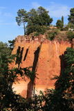 Le Roussillon - la Provence Photographie stock libre de droits